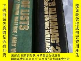 二手書博民逛書店THE罕見PEOPLES ALMANAC #2 THE BOOK