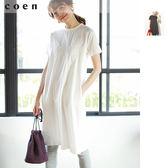 出清 拼接 洋裝 蕾絲上衣 T恤材質免運費 日本品牌【coen】
