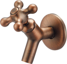 【麗室衛浴】國產 精緻良品 古典 壁式 室外水栓 單一出水  LS-34211