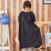 【Tiara Tiara】百貨同步新品ss  刺繡純色洋裝(綠/黑)