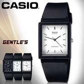 CASIO手錶專賣店 卡西歐 MQ-27-7E 男錶 中性錶 指針 壓克力鏡面 超薄方形 黑面白數字