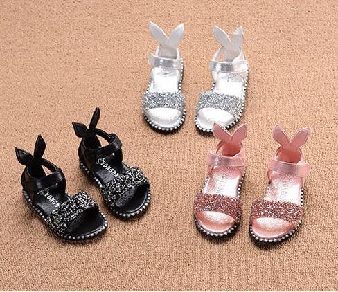 兒童女涼鞋正韓女童公主鞋可愛寶寶女孩鞋【中秋節禮物八折搶購】