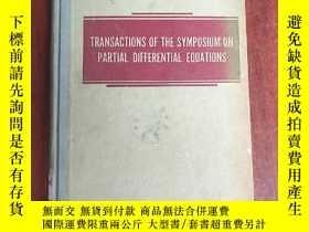 二手書博民逛書店transactions罕見of the symposium on partial differential eq