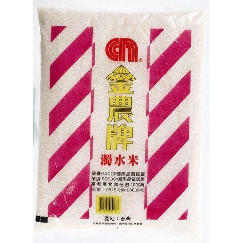 金農濁水米3kg【愛買】