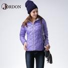 【JORDON 橋登 女 超輕羽絨外套《紫》】451/輕量羽絨衣/羽絨衣/保暖外套/旅遊