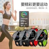 智慧手環-智慧手環多功能心臟連藍芽健康血壓心率監測運動短信提醒計步睡眠提 花間公主
