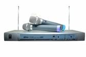 MIPRO MP-2688K VHF固定頻率雙頻道自動選訊無線麥克風系統