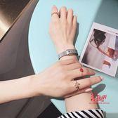指環套裝 愛心戒指女5件套裝組合ins少女心網紅關節戒簡約氣質個性潮流時尚