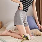 安全褲 女防走光打底褲緊身薄款彈力短褲內搭不卷邊黑白灰色 3色