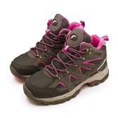 LIKA夢 GOODYEAR  固特異專業多功能郊山防水戶外健行鞋 登山者W1 系列 咖啡桃 92503 女