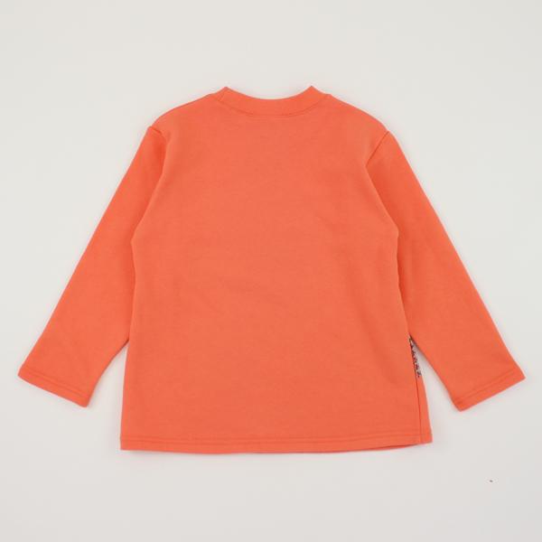 【愛的世界】純棉圓領彩繪長袖上衣/10歲/S號-台灣製-n10 ★秋冬上著