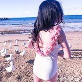ins兒童泳衣女孩可愛寶寶嬰兒游泳衣公主韓國女童中大童泳裝水水子 小確幸生活館