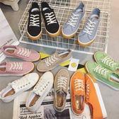 帆布鞋-情侶鞋-純色百搭時尚鞋-帶款男女休閒鞋7色73no29【巴黎精品】