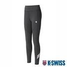 K-SWISS KS 5 Stripe Legging運動緊身褲-女-黑