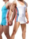 *連體衣*型男時尚運動連體衣睡衣跑步運動衣健身衣【JJ_WH70】