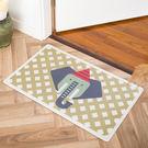 時尚創意地墊217 廚房浴室衛生間臥室床邊門廳 吸水長條防滑地毯(45*75cm)