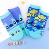 迪士尼星際寶貝系列直版親子襪 史迪奇 短筒襪 短襪 童襪 卡通印花襪 成人襪