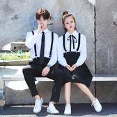 黑五好物節  鋒翼韓版男女學院風校服套裝水手服學生日系班服制服長裙  無糖工作室