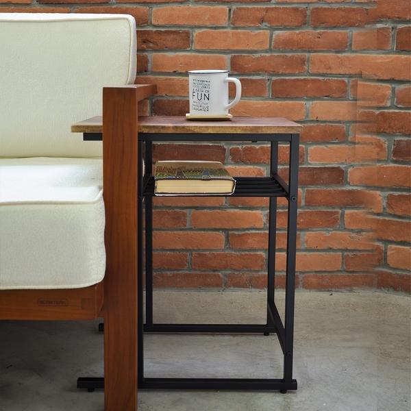 邊桌/日式邊桌/茶几桌/和室桌/仿古木色 MIT台灣製【A18016】Tasteful 特斯屋
