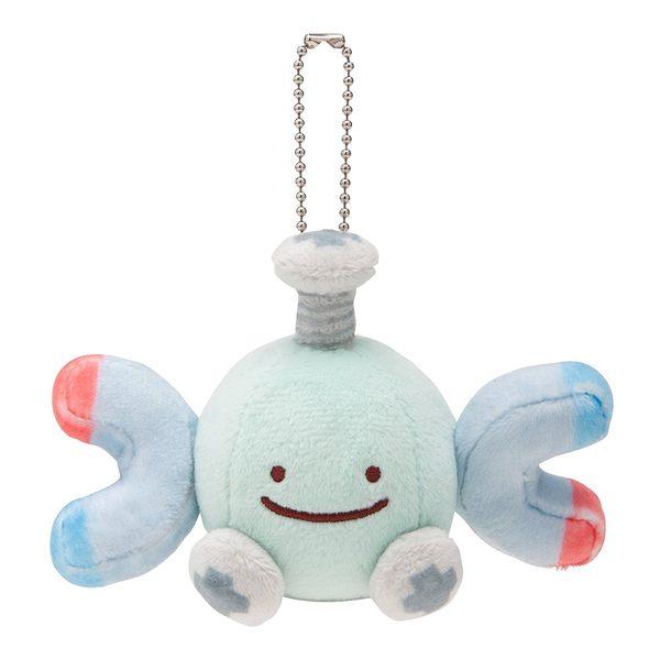 日本 寶可夢 (自爆磁怪 優惠組) 娃娃+吊飾組 神奇寶貝 生日禮物【小福部屋】