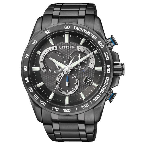 CITIZEN 星辰光動能單局電波鬧鈴腕錶( AS8025-57E)/43mm