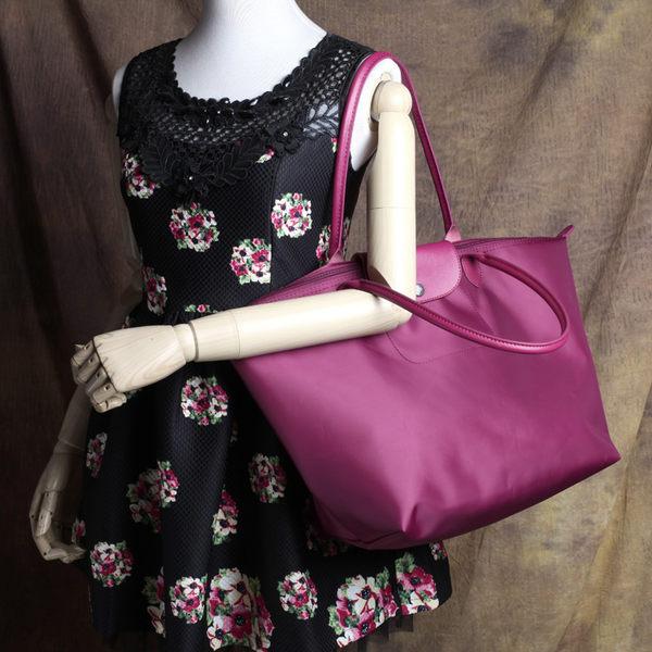 618年㊥大促 加厚餃子包長柄大號水餃包大容量單肩包女包購物袋輕