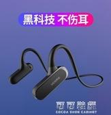 無線運動藍牙耳機跑步雙耳不入耳掛式男女通用骨傳導新概念 流行花園
