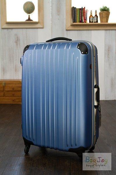 (現折) Commodore  29吋 戰車 行李箱  輕量化款式 (霧面海洋藍)