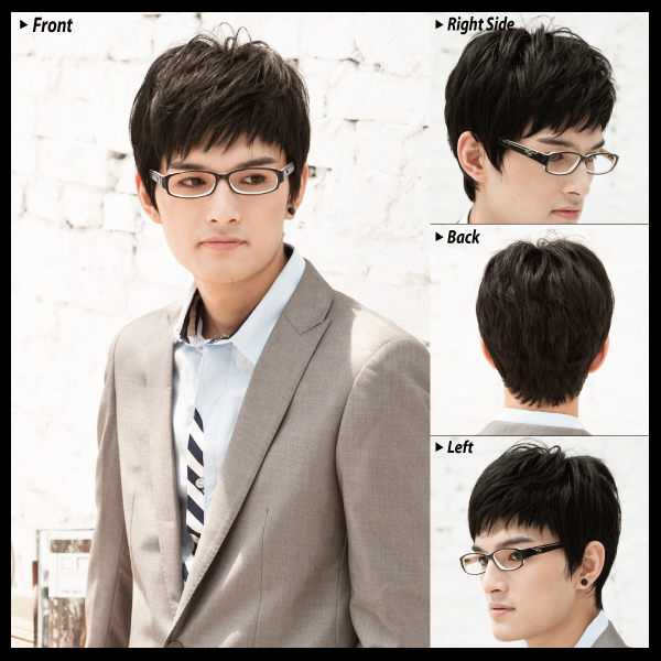 朴有天輕爽髮束感 個性潮髮【M006035】*韓國假髮 男假髮 男用假髮◆MFH韓系假髮◆