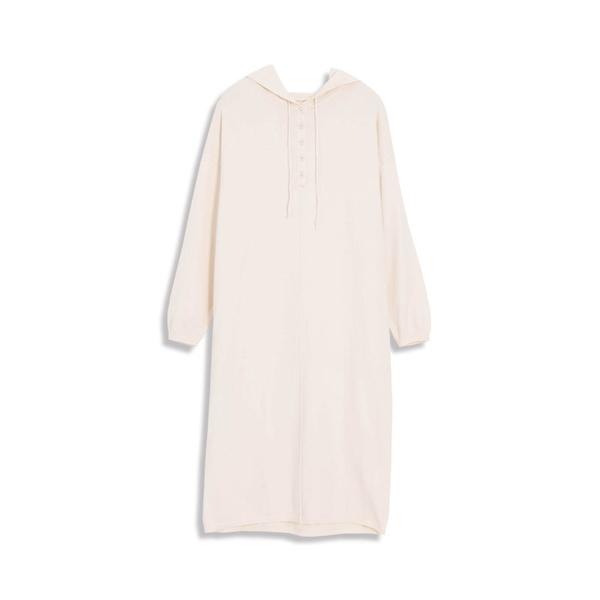Queen Shop【01084787】基本素色百搭連帽針織長袖洋裝 三色售*現+預*