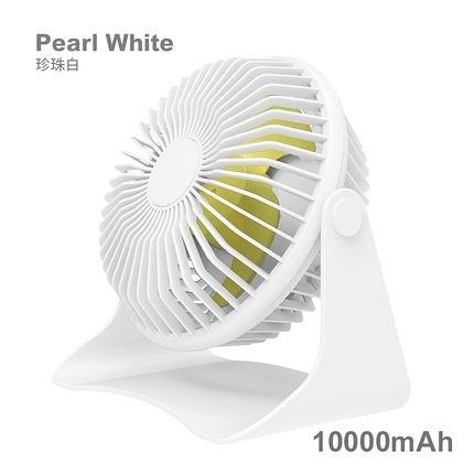 usb小風扇 迷你小型可充电桌面上台式电扇办公室大风力便携式静音