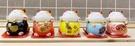【震撼精品百貨】招財貓_招き猫~擺飾-五色站姿-5入*30621