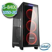 技嘉B360平台【邪兵刀鋒II】i5六核GTX1050-2G獨顯2TB效能電腦