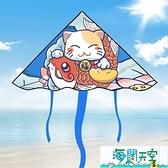 風箏 中國風網紅微風易飛專用手持小兒童大人大型 【海闊天空】