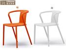 【UHO】 樂樂PP造型椅/白/免運送費 HO18-769-4