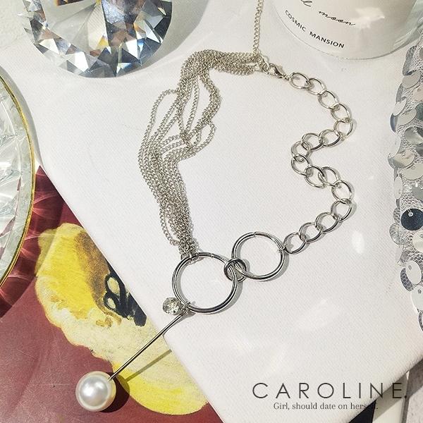 《Caroline》★韓國熱賣項鍊 甜美浪漫風格時尚流行項鍊70129