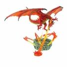 【4D MASTER】立體拼組模型 恐龍系列-造景熾火龍 26846