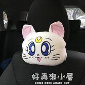汽車座椅靠背頭枕護頸枕通用舒適型四季卡通可愛韓國情侶款個性女  好再來小屋 igo