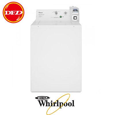 Whirlpool 惠而浦 CAE2765FQ 商用投幣式洗衣機 9KG 美製 保固一年 白色 公司貨 ※運費另計(需加購)