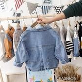男童外套春秋款兒童牛仔外套2019新款小童寶寶韓版潮裝洋氣上衣-Ifashion