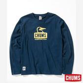 CHUMS 日本 男 Booby 長袖T恤 深藍 CH011321N001