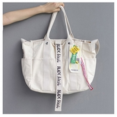 #托特包#斜背包# 多口袋  大方包 手提包 帆布包 環保購物袋-手提/單肩/斜背包