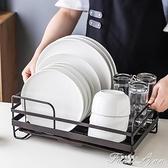 瀝水架家用廚房用品放晾碗盤筷子籠單層碗碟收納置物架子儲物架
