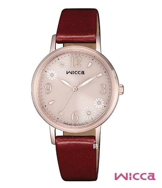 CITIZEN星辰 wicca (KP5-166-90) 光動能 限定 女錶/廣告款
