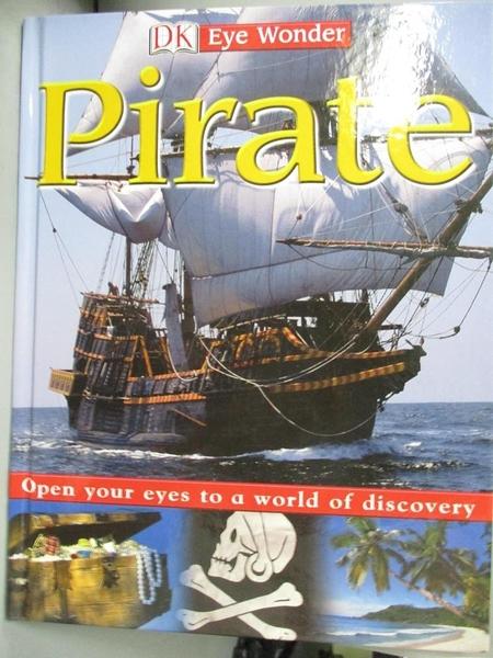 【書寶二手書T7/少年童書_QAW】Pirate_Lock, Deborah