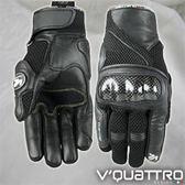 【東門城】V QUATTRO_SPIDER EVO碳纖維CARBON防摔短手套
