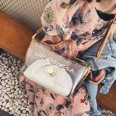 斜背包包女大容量菱格子母包透明大氣手提塑料單肩包側背包  蒂小屋服飾