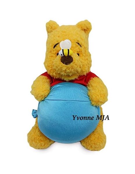 *Yvonne MJA*美國迪士尼預購區限定正品 小熊維尼 長毛12寸娃娃