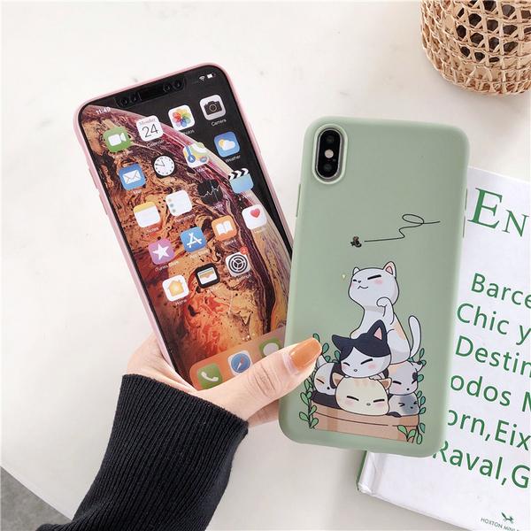 慵懶動物 iPhone 12 mini iPhone 12 11 pro Max 情侶手機殼 卡通手機套 全包邊軟殼 TPU矽膠殼 保護殼套