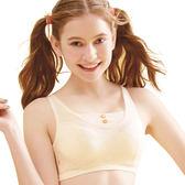 思薇爾-竹蜻蜓輕甜風系列B-E罩軟鋼圈背心式素面包覆內衣(香草奶)